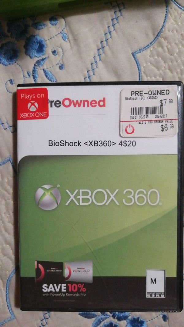 Pre-owned XBOX360 BioShock