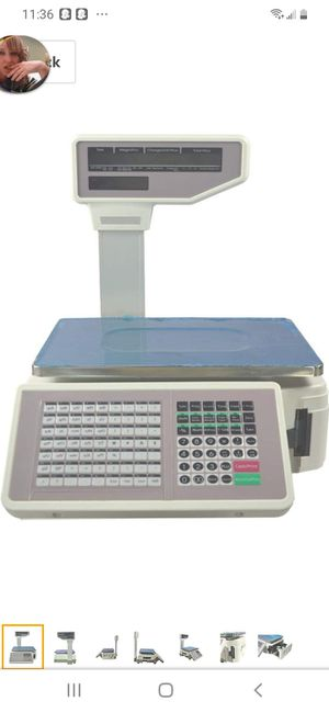 Barcode Label Printing Scale for Sale in San Jose, CA