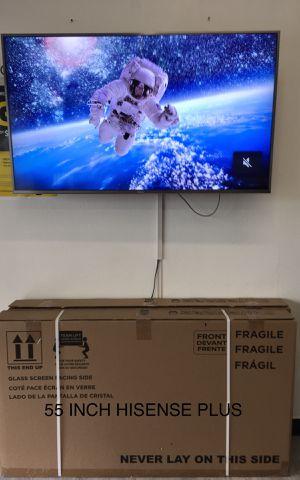 55 INCH HISENSE PLUS 4K SMART TV for Sale in Chino Hills, CA