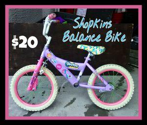 "16"" Shopkins Balance Bike for Sale in Las Vegas, NV"