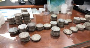 Morgan and peace silver dollars for Sale in Tampa, FL