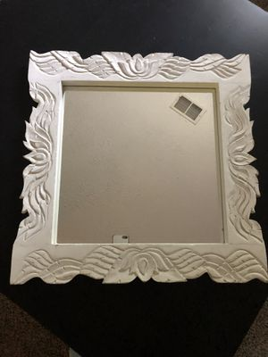 Antique white mirror for Sale in Dumfries, VA