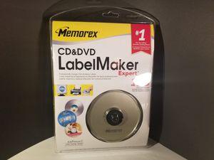 Memorex CD&DVD Label Maker Expert NOS for Sale in Melbourne, FL