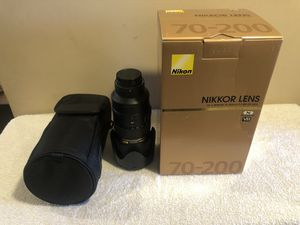 Nikon AF-S NIKKOR 70-200mm f/2.8G ED VR II for Sale in Rolling Hills Estates, CA