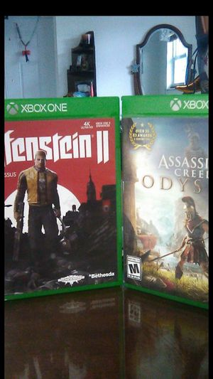Both for $20 xbox for Sale in Miami, FL