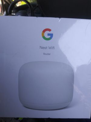 Google Nest Wifi Router (Un-opened) for Sale in Bakersfield, CA