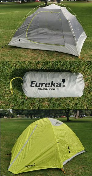 Eureka! Sunriver 3 Three Person (or dog) Three Season Backpacking Tent Camping Hiking Flawless for Sale in San Diego, CA