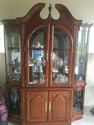 Beautiful large China Cabinet/Hutch for Sale in Oconomowoc, WI