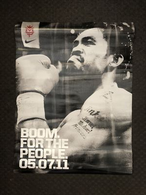 Nike manny pacquiao collectible poster for Sale in Los Angeles, CA