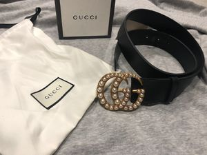 Gucci Pearl GG Belt *Authentic* for Sale in Queens, NY