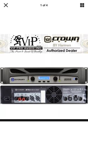 CROWN STEREO POWER AMPLIFIER / XTi 4002 for Sale in Elburn, IL