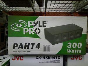New Pyle car audio or DJ equipment 4 3 inch horn tweeter box for Sale in Atlanta, GA