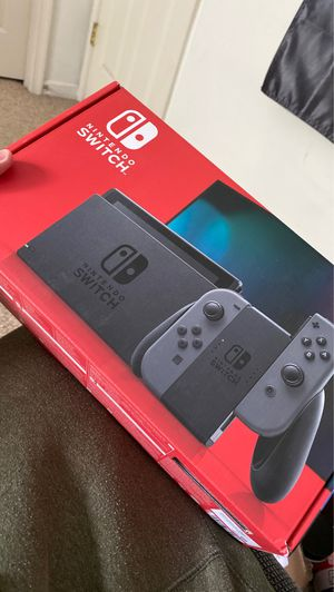 NEW Nintendo Switch - GRAY - (NEWEST MODEL) for Sale in Fairfax, VA