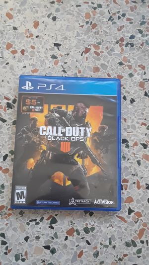 Call Of Duty Black Ops 4 for Sale in Hialeah, FL