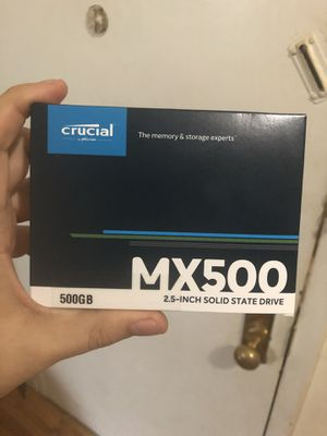 Crucial 500gb SSD for Sale in Brooklyn, NY