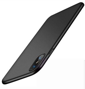 BRAND NEW OPEN BOX Slim Fit iPhone XS Case/iPhone X Case black. for Sale in Fort Worth, TX