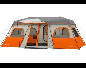 Ozark Trail 12-Person Instant Cabin Tent with Built-in Lights for Sale in Glendale, AZ