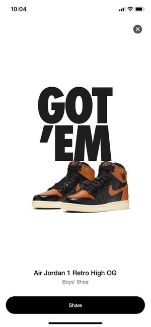Nike Air Jordan 1 SBB 3.0 Size 6.5y for Sale in New York, NY