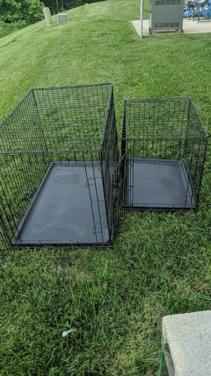 Medium and Small dog cages for Sale in Staunton, VA