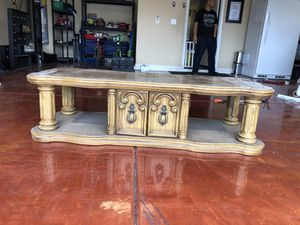 Wood Project Coffee Table for Sale in Phoenix, AZ
