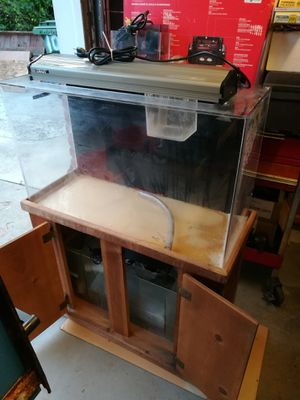 29 gal reef tank with sump and skimmer for Sale in Daly City, CA