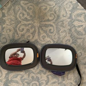 Two Back Of The Car Seat Mirrors For Babies for Sale in Fairfax, VA