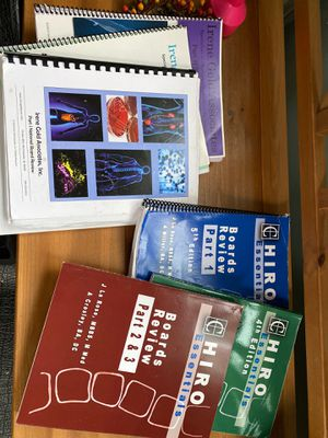 Chiropractor study books for Board Exams for Sale in New Haven, CT