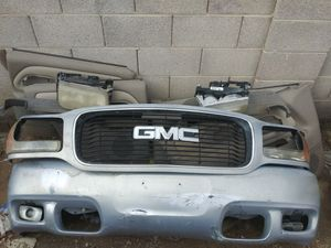 Gmc front clip parts for Sale in undefined