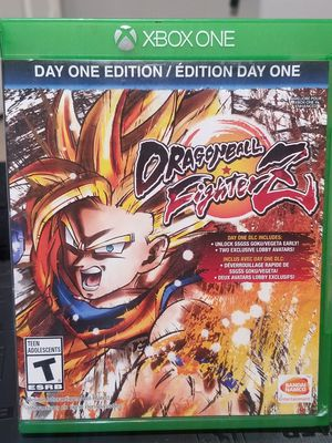 XBOX ONE DRAGON BALL FIGHTERZ for Sale in Victorville, CA
