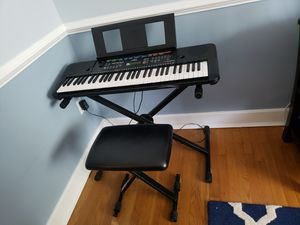 Keyboard with stand and stool for Sale in Woodbridge, VA
