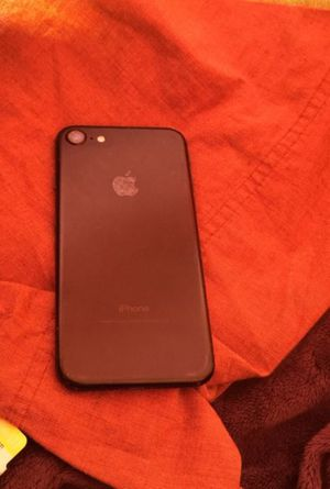 iPhone 7 black w black apple leather case for Sale in San Francisco, CA