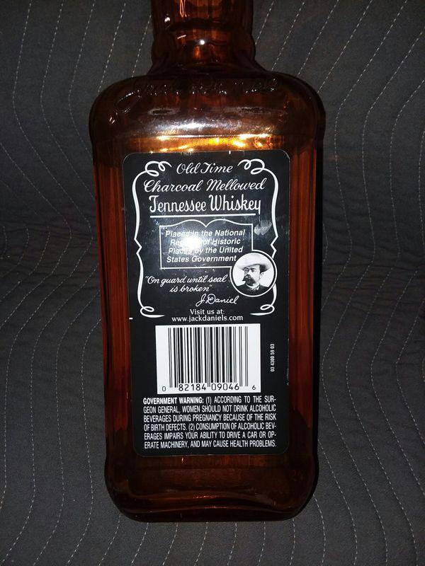 Collectable Jack Daniels Large 5L Glass Bottle