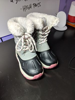 2 pair of girl boots/1 pair of boy boots. for Sale in Newark, OH