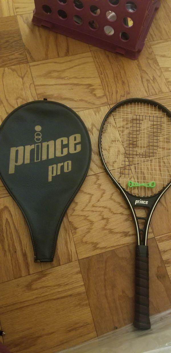 Prince pro tennis racket