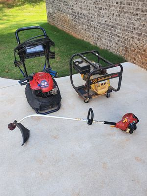 """Business Starter Kit"" - Power Washer, Trimmer, Generator, Trailer for Sale in Conyers, GA"