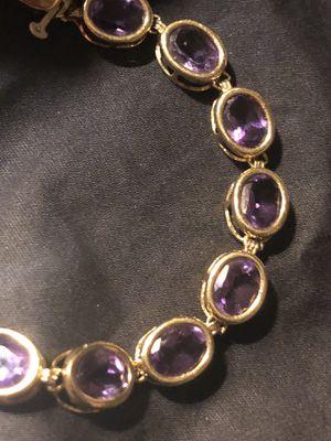 585 14k Vintage Amethyst Bracelet Tiffany &Co for Sale in Miami Beach, FL