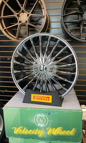 "22"" Velocity VW11 Chrome Wheels Rims 