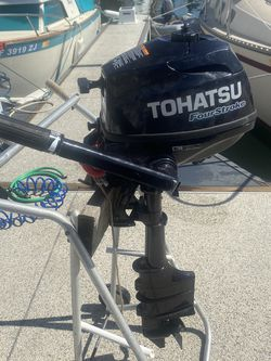 Tohatsu 3-1/2hp Long Shaft Outboard Motor for Sale in Marina del Rey,  CA