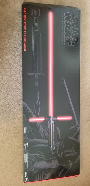 Kylo Ren Force FX Lightsaber for Sale in Belmont, CA