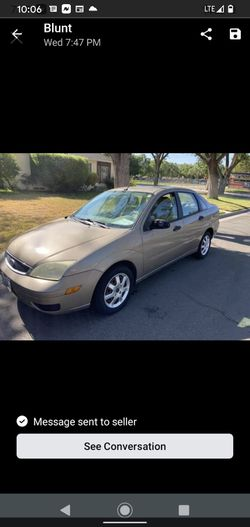 2005 Ford Focus Clean Title for Sale in Modesto,  CA
