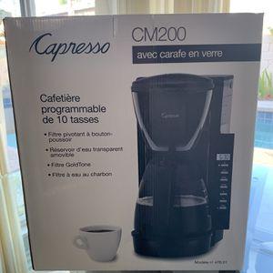 Capresso Coffee Maker for Sale in Cypress, CA
