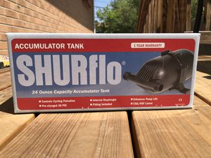 Shurflo Accumulator Tank for Sale in Denver, CO