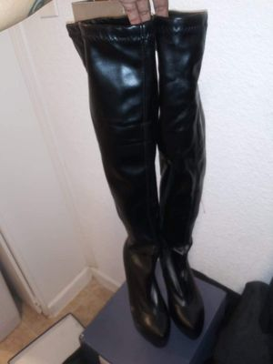 7 1/2 black thigh high boots BRAND NEW for Sale in Dallas, TX