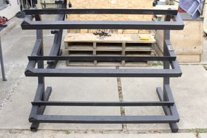 3 tier dumbbell weight rack for Sale in Fremont, CA