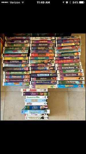 Disney VHS tapes for Sale in Hillsboro Beach, FL