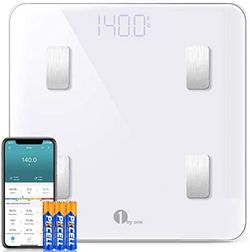 BRAND NEW 1byone Scales Digital Weight and Body Fat Scale Smart BMI Scale, Bluetooth Bathroom Scale Body Composition Analyzer Track 14 Key Composition for Sale in Westlake Village,  CA