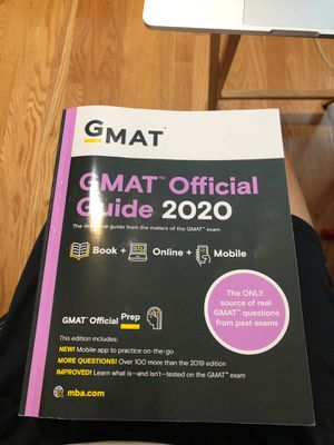 GMAT 2020 official guide for Sale in Quincy, MA