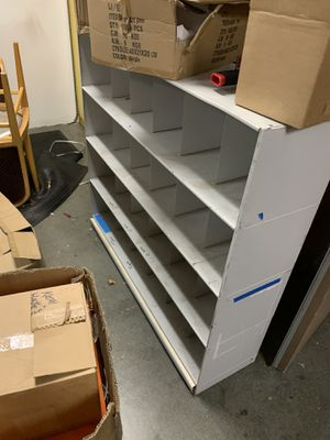 Metal Shelving slots very sturdy for Sale in Temecula, CA