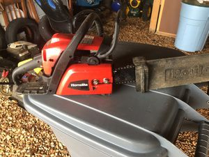 "Homelite 18"" chainsaw for Sale in Stuarts Draft, VA"