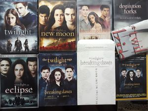 Twilight DVD collection for Sale in Melbourne, FL